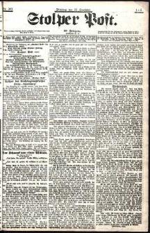 Stolper Post Nr. 301/1906