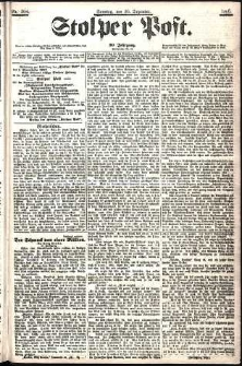 Stolper Post Nr. 304/1906