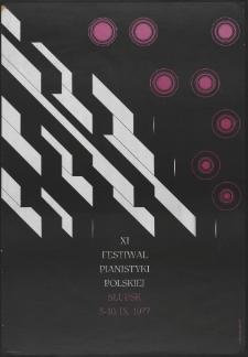 [Plakat] : XI Festiwal Pianistyki Polskiej w Słupsku