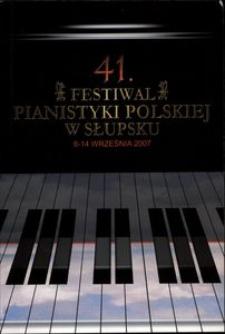 Festiwal Pianistyki Polskiej (41 ; 2007 ; Słupsk)
