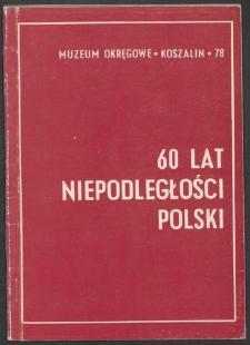 60 lat niepodległości Polski