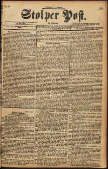 Stolper Post Nr. 15/1898