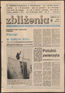 Zbliżenia : tygodnik społeczno-polityczny, 1985, nr 4