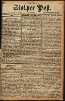 Stolper Post Nr. 38/1898