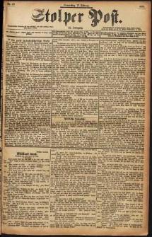 Stolper Post Nr. 40/1898