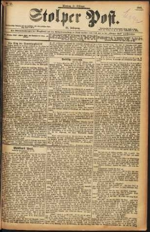Stolper Post Nr. 43/1898