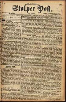 Stolper Post Nr. 45/1898