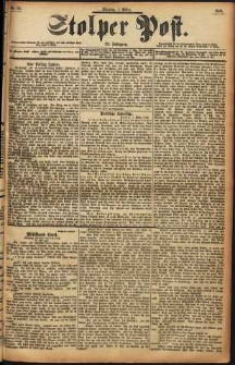 Stolper Post Nr. 55/1898