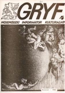 Gryf 1983, kwiecień