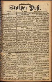 Stolper Post Nr. 78/1898