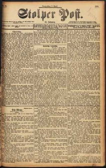 Stolper Post Nr. 82/1898