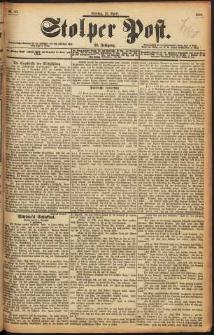 Stolper Post Nr. 87/1898