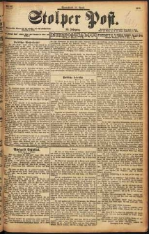 Stolper Post Nr. 88/1898