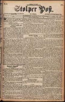 Stolper Post Nr. 93/1898