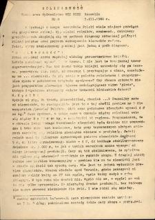 """""""Solidarność"""", 1980, nr 8"""