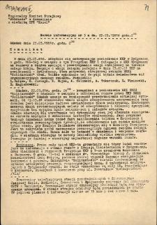 """Serwis Informacyjny Regionalnego Komitetu Strajkowego """"Pobrzeże"""" z siedzibą ZPE """"Kazel"""" 1981, nr 3"""