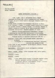 """Serwis Informacyjny Zarządu Regionu """"Pobrzeże"""" [brak nr]"""