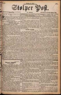 Stolper Post Nr. 95/1898