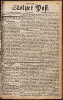 Stolper Post Nr. 99/1898