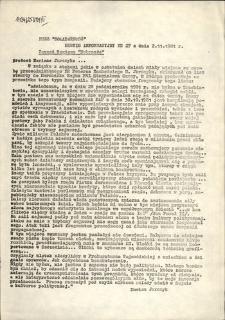 """Serwis Informacyjny Zarządu Regionu """"Pobrzeże"""", nr 27"""