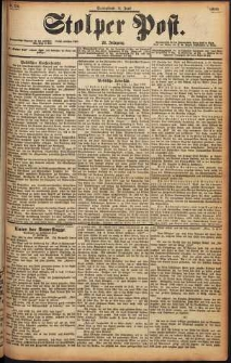Stolper Post Nr. 134/1898