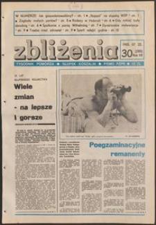 Zbliżenia : tygodnik społeczno-polityczny, 1985, nr 30