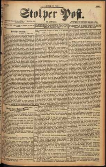 Stolper Post Nr. 139/1898