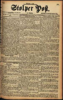 Stolper Post Nr. 155/1898