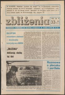 Zbliżenia : tygodnik społeczno-polityczny, 1985, nr 33