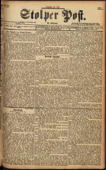 Stolper Post Nr. 166/1898