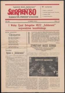 """""""Sierpień '80"""" Tygodnik NSZZ """"Solidarność"""", 1981, nr 4"""