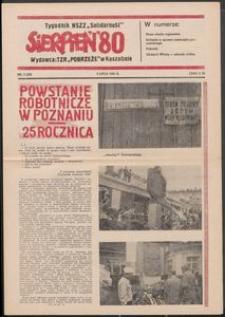 """""""Sierpień '80"""" Tygodnik NSZZ """"Solidarność"""", 1981, nr 7"""