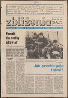 Zbliżenia : tygodnik społeczno-polityczny, 1985, nr 36