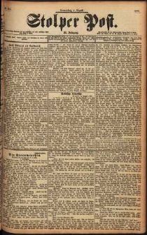 Stolper Post Nr. 180/1898