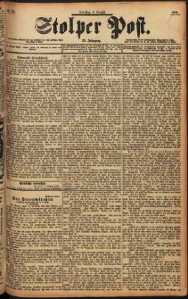 Stolper Post Nr. 184/1898