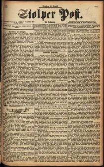 Stolper Post Nr. 190/1898