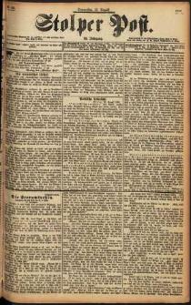 Stolper Post Nr. 198/1898