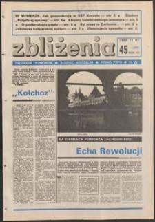 Zbliżenia : tygodnik społeczno-polityczny, 1985, nr 45