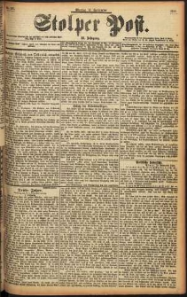 Stolper Post Nr. 213/1898
