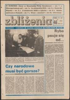 Zbliżenia : tygodnik społeczno-polityczny, 1985, nr 47