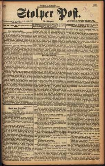 Stolper Post Nr. 256/1898