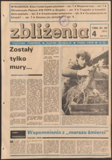 Zbliżenia : tygodnik społeczno-polityczny, 1986, nr 4