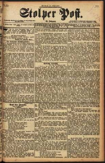 Stolper Post Nr. 274/1898