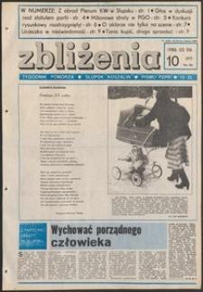 Zbliżenia : tygodnik społeczno-polityczny, 1986, nr 10