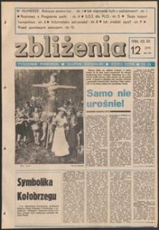 Zbliżenia : tygodnik społeczno-polityczny, 1986, nr 12