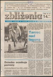 Zbliżenia : tygodnik społeczno-polityczny, 1986, nr 14