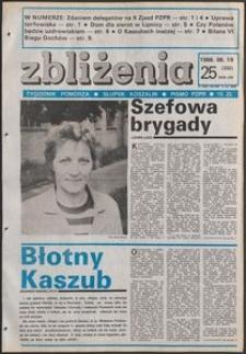 Zbliżenia : tygodnik społeczno-polityczny, 1986, nr 25