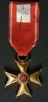 Krzyż Kawalerski Orderu Odrodzenia Polski + Legitymacja Nr I-33801