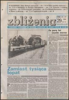 Zbliżenia : tygodnik społeczno-polityczny, 1986, nr 29
