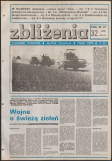 Zbliżenia : tygodnik społeczno-polityczny, 1986, nr 32